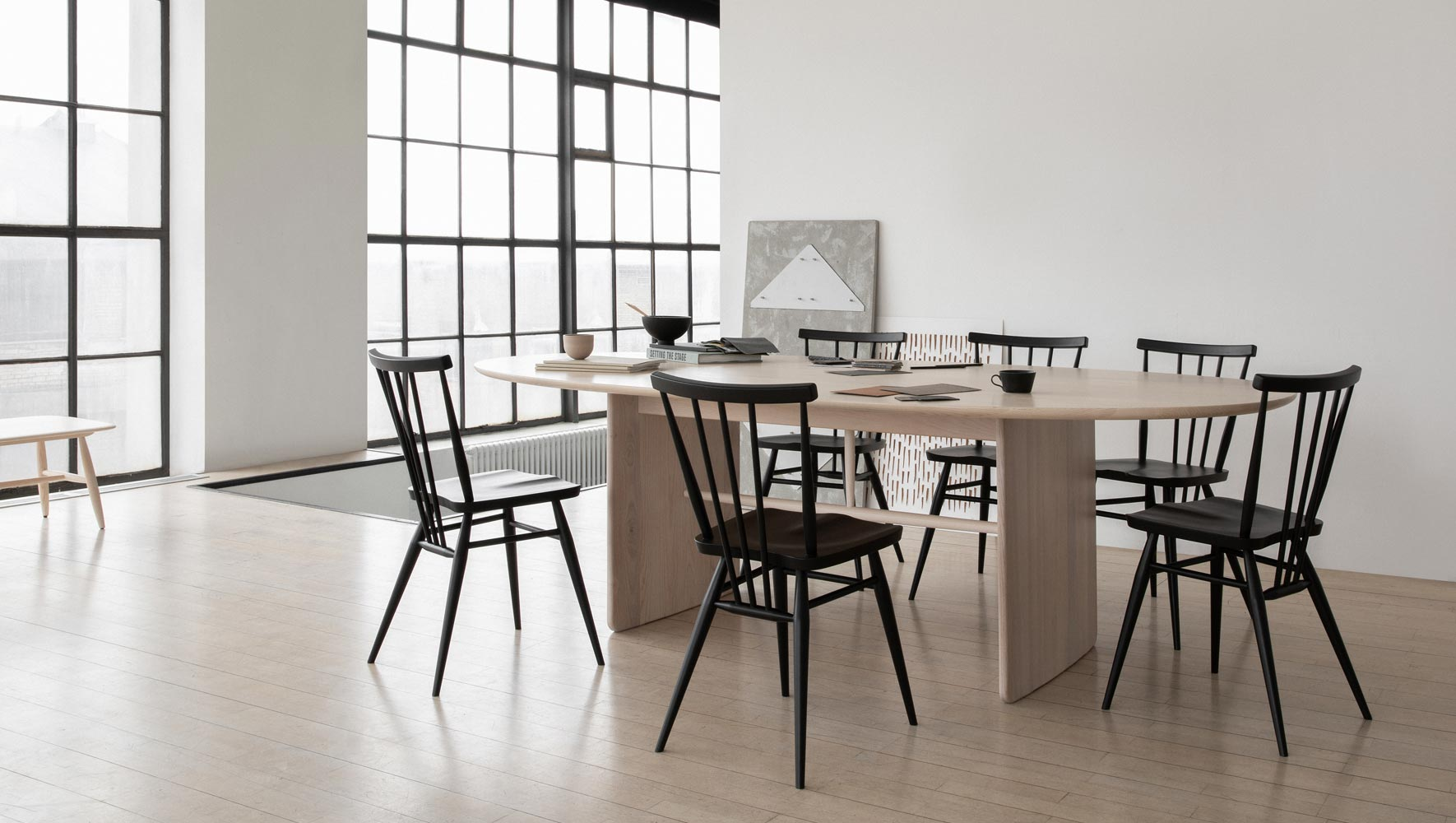 L. Ercolani Large Pennon Table
